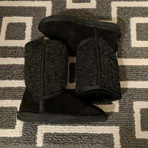 Minnetonka black winter boots